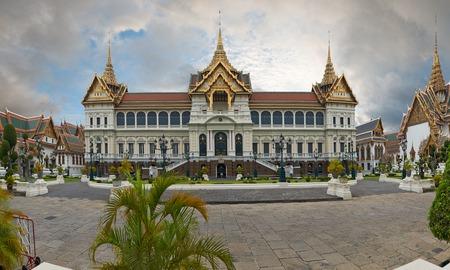 Il Grand Palace � un complesso di edifici nel cuore di Bangkok, Thailandia Il palazzo � stato la residenza ufficiale dei re di Siam e poi in Thailandia dal 1782