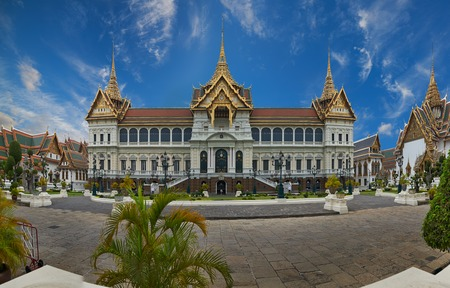 The Grand Palace is a complex of buildings at the heart of Bangkok, Thailand  The palace has been the official residence of the Kings of Siam  and later Thailand  since 1782  photo