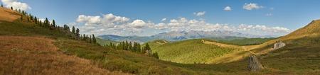 Montagne, Siberia occidentale, monti Altai, Chuya cresta.