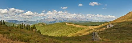 Mountains, West Siberia, Altai mountains, Chuya ridge. Archivio Fotografico