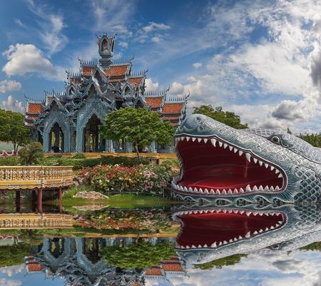 Monte Sumeru, Ancient Siam (precedentemente noto come antica citt�) � un parco costruito sotto il patrocinio di Lek Viriyaphant e si estende su 200 acri (0,81 km2) a forma di Thailandia.