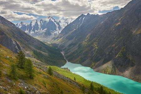 Mountain Russia, Siberia, monti Altai, Chuya cresta.