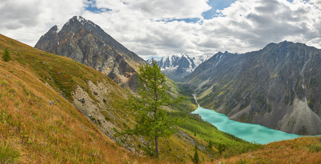 Shavla lake, Russia, Siberia, Altai mountains, Chuya ridge. photo