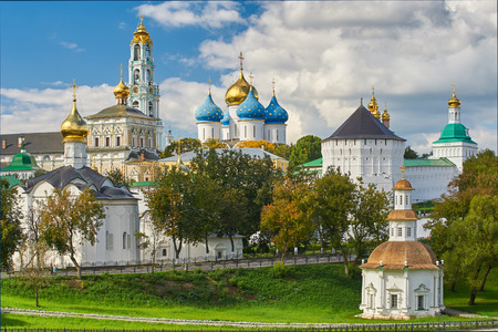 holy: The Holy TrinitySt. Sergius Lavra Sergiev Posad Moscow district Russia.