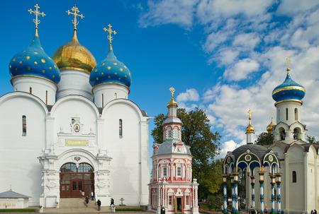 Il Santo TrinitySt. Quartiere Sergius Lavra Sergiev Posad Mosca Russia. Editoriali
