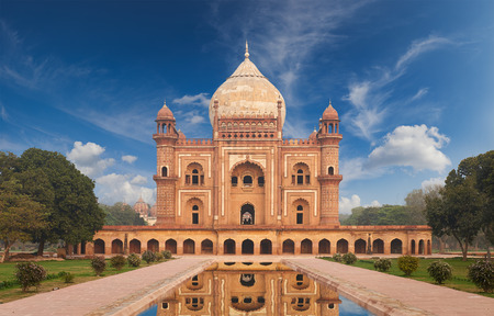 mughal: Humayun Tomb,New Delhi The last refuge of Mughal Emperor Humayun reminds rather of a luxurious palace, than a tomb. Humayuns Tomb is one of the most popular tourist destination in India. Editorial