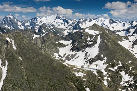 katun: Beautiful summer landscape,mountain lake, Russia, Siberia, Altai mountains, Katun ridge.