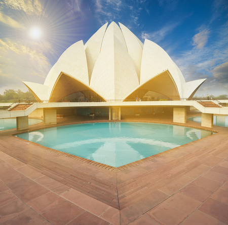 house of worship: The Lotus Temple, located in New Delhi, India, is a Bahai House of Worship