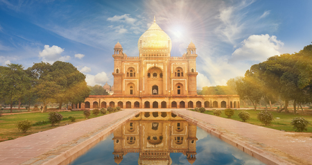 Humayun Tomb,New Delhi The last refuge of Mughal Emperor Humayun reminds rather of a luxurious palace, than a tomb. Humayuns Tomb is one of the most popular tourist destination in India. Editorial