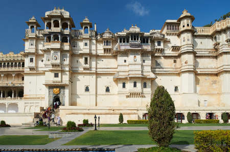 City Palace, Udaipur is a palace complex situated in the city of Udaipur in the Indian state of Rajasthan. The palace is located on the east bank of Lake Pichola Editorial