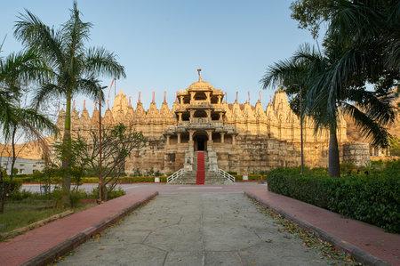 Ranakpur Jain temple, is a Jain temple at Ranakpur is dedicated to Tirthankara Rishabhanatha. The temple is located in a village of Ranakpur near Sadri town in the Pali district of Rajasthan.