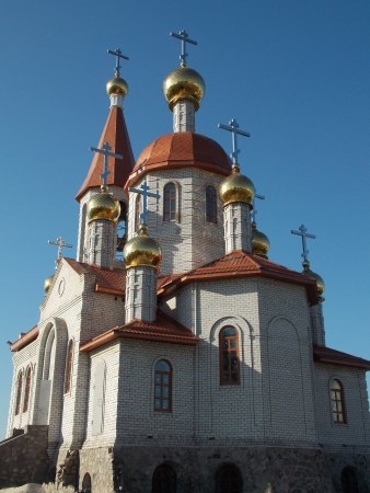 New church to Kremenchug