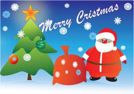 greeting card  With Christmas