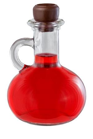 elixir: elixir objetos medicina corcho medici�n aislada vidrio poci�n blanco, botella, color, fotograf�a corcho magia vegetal rojo