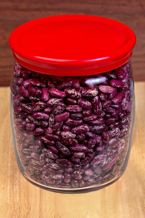 legume: food  glass  bean  jar  legume  dried  organic  vegetable, wooden boards pinto