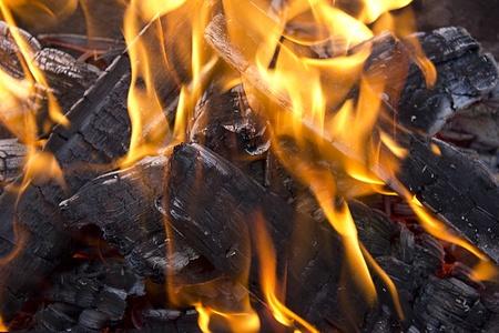 fervour: campfire Stock Photo