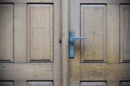 details: Old doors, handles, locks, lattices and windows Stock Photo