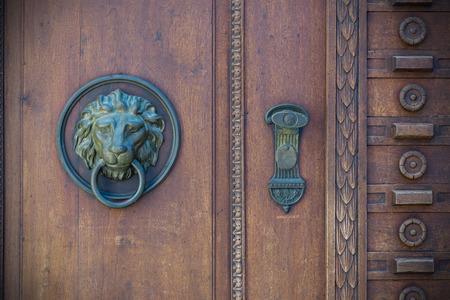 windows and doors: Old doors, handles, locks, lattices and windows Stock Photo