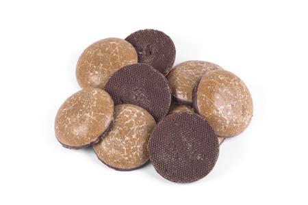glaze: Cookies in chocolate glaze