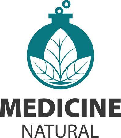 Vector sign homeopathy, alternative medicine