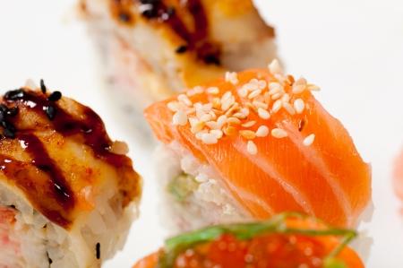 maki sushi rolls Stock Photo - 23976324