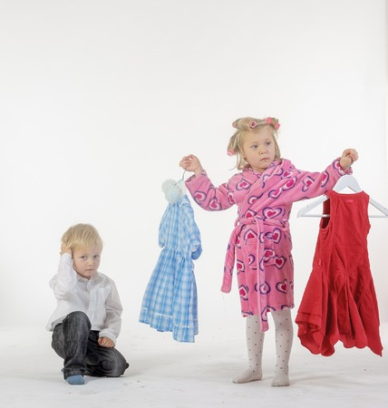Children parody of adult life