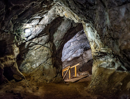 Photos of Tavdin caves from within the mountains of the Altai, Tavdinskie cave.