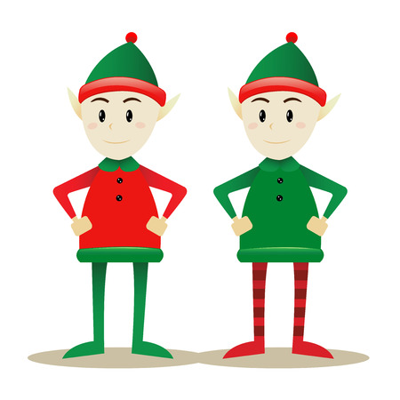 Two Santa Elves
