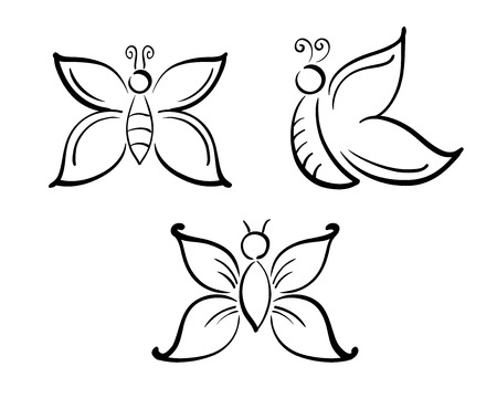 Butterflies Illustration