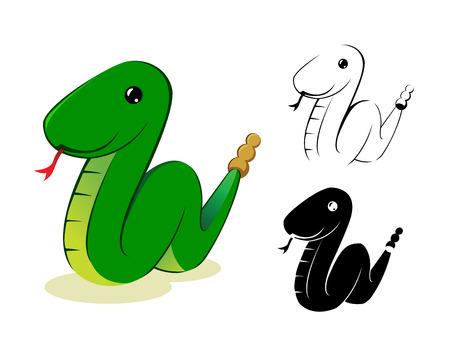 anaconda: Snake Illustration