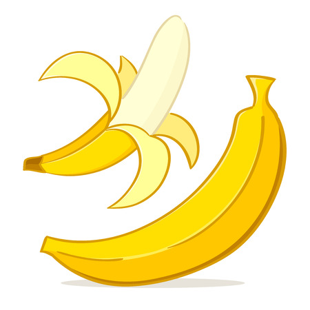 banana skin: Banana Illustration