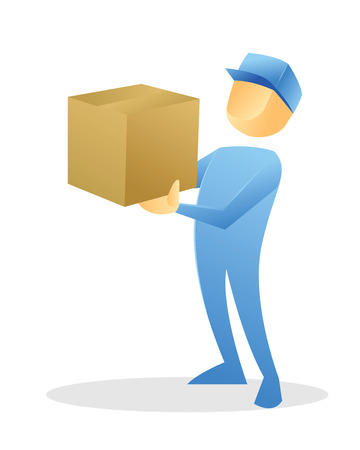 Delivery man Vector