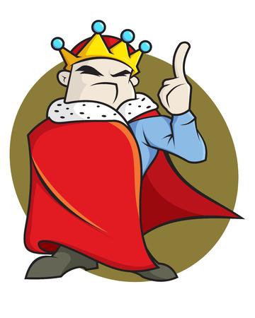 Mighty king Illustration