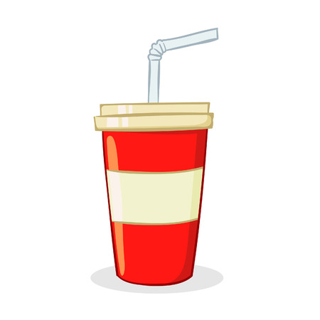 illustration of a cup of soda drink
