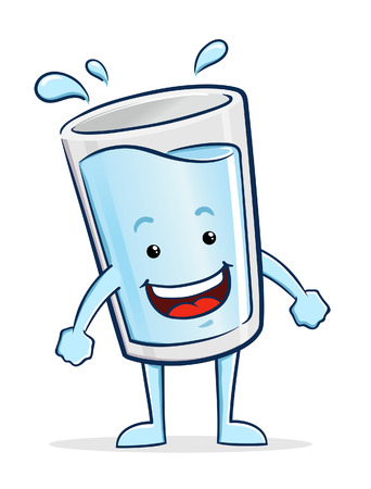 Glass of Water Character
