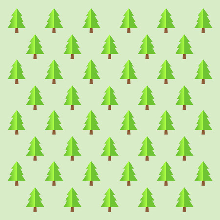 simple background: Vector stock of simple pine tree background