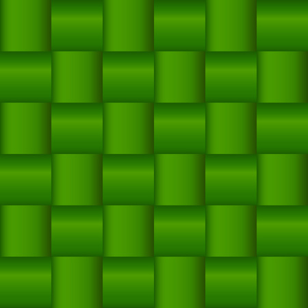 Vector stock of green woven cross cross background pattern