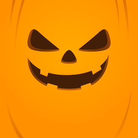 Vector stock of jack o lantern face halloween background