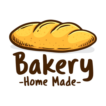 Home made bakery shop icon Illustration