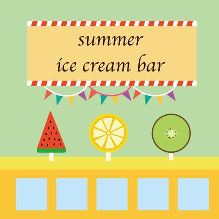 FRUIT, ICE CREAM BAR