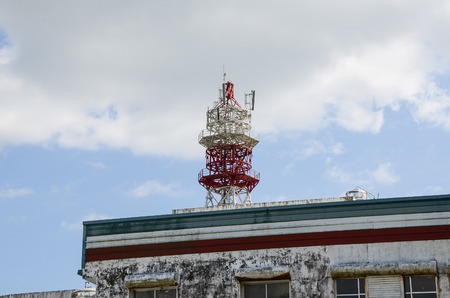 Broadcast high voltage tower