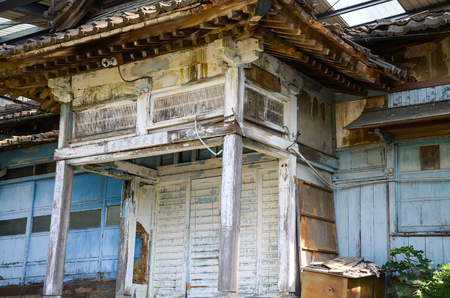 Japanese style old house.