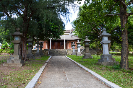 Miaoli Tongxiao shrine, Taiwan.