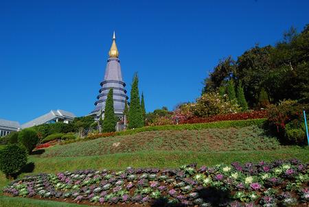 doi: Pagoda at doi suthep