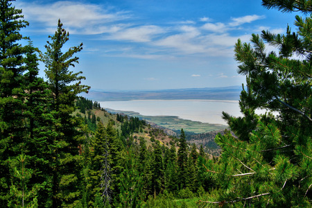 Views from the Warner Mountains in Modoc County, California