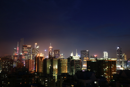 The Guangzhou business district Editorial