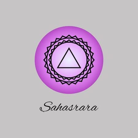 chakra: Chakra symbol of human.