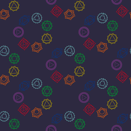visuddha: abstract geometric background