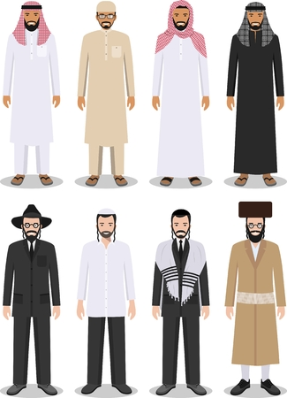 166 Jewish Clothes Stock Vector Illustration And Royalty Free ...