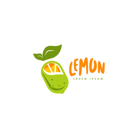 Lemon logo vector